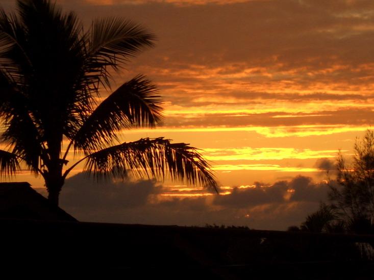 Stunning Sunset from the lanai